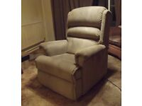 Upholstered Sherborne Rise & Recliner Chair.