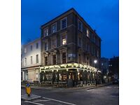 Head chef required for modern high quality independant pub in Marylebone