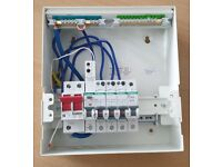 Crabtree Starbreaker 509/0A 9 Module Metal Electrical Consumer Unit with RCBOs and MCB