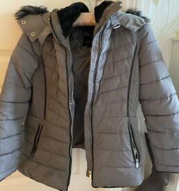 Women's grey coat