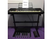 Orla KX900: Portable Organ / Keyboard with Stand, Pedals & More