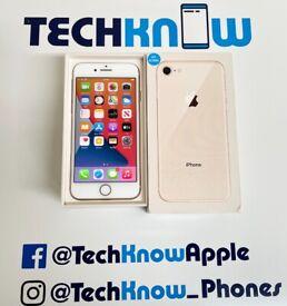 Apple iPhone 8 64Gb unlocked Gold Boxed £189.99