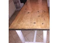 Rustic Country Dining Table £120 ono