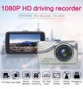 "Novatek 3"" LCD Car Camera, Full 1080P HD Dash Cam Recorder - Silver"