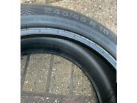 245/45/18 Continental Run flat tyre
