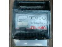 Selmar Turbo 6 6/12 volt 6 Amp RMS Battery Charger