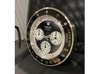 Vintage Daytona wall clock - Paul Newman