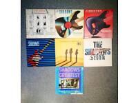 "The Shadows x7 12"" vinyl albums"