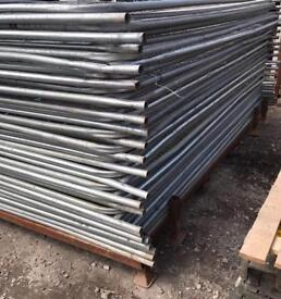 USED HERAS TEMPORARY SECURITY FENCE PANELS 🚧