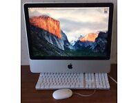 Apple iMac + KB + Mouse - 2ghz + 3gb + 250gb + OS X El Capitan - FULLY WORKING - only £170