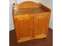 Antique Pine Baby Changing Unit/Cupboard for Nursery