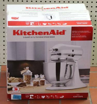 NEW -KitchenAid KSM150PSCL 325-Watt 5-Quart Tilt Head Stand Mixer - Crystal Blue