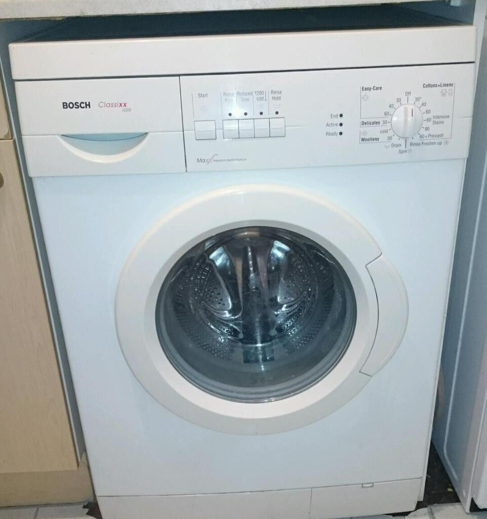 Bosch Classixx 5 washing machine: instructions for use, washing modes and reviews 52