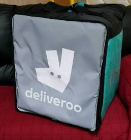 Deliveroo bags & Jacket