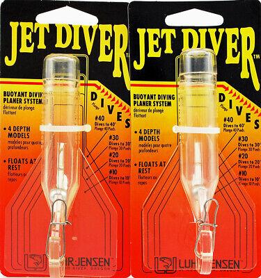 Luhr Jensen Jet Diver # 30 Dives To 30/' 5540-030-0932 Metallic Blue