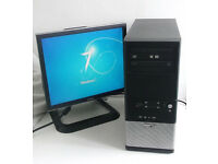 Gaming PC + 7 Games (Quad, PC, Monitor, K/M, 5GB Ram + 1GB HD 6770, i5, All in One, PC, i7, Computer