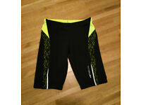 black & yellow jammers / swim trunks, size 8 years