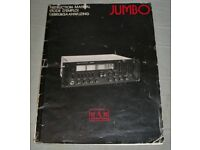 HAM INTERNATIONAL JUMBO INSTRUCTION MANUAL ( JUST REDUCED )