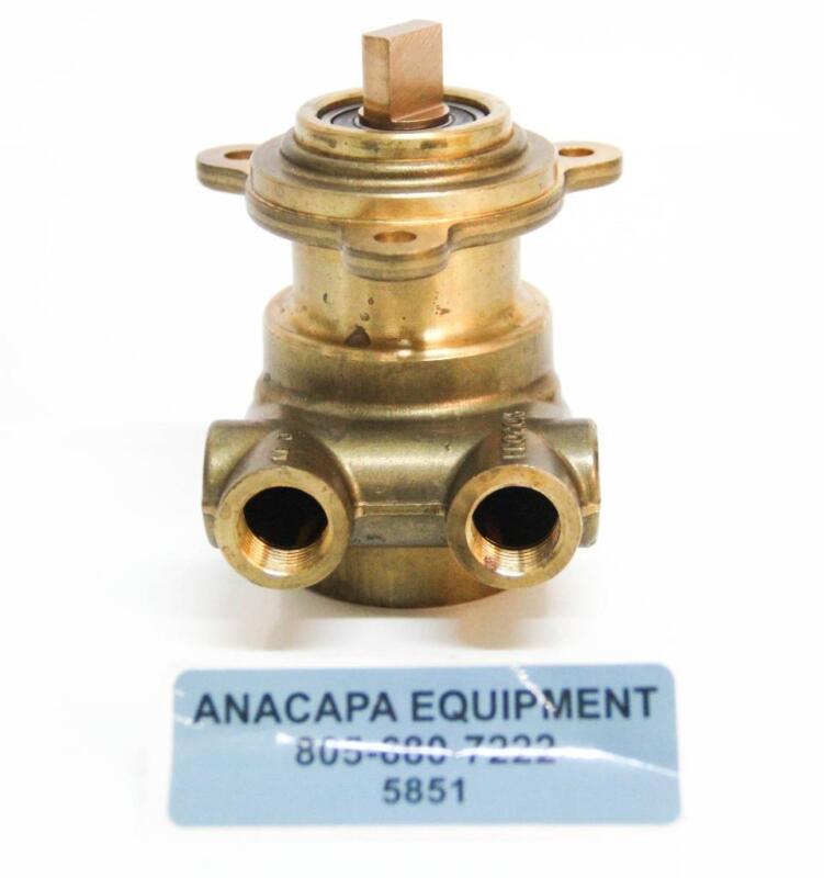 """Haskris 102L100F11XX Brass Procon Rotary Vane Pump 3/8"""" NPT NEW (5851)"""