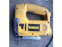 DeWalt 240v Jigsaw