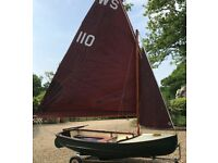 Scow dinghy