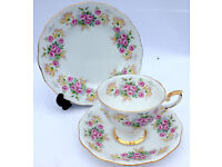 Mad price for a quick sale....Large collection of quality vintage china perfect for weddings etc