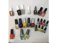 Selection of Nail Polishes