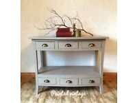 Console Table, Hall Storage, Hall Table, Display Table, Side Table, Sideboard, Shabby chic