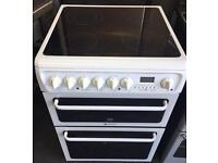 Electric ceramic cooker 60cm HOTPOINT