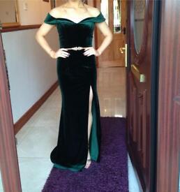 Green Formal dress (size6/8)