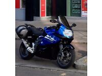 2010 BMW K1300S Blue 15,700miles, ABS ESA Panniers Touring Screen Alarm Remus EndCan Quickshift