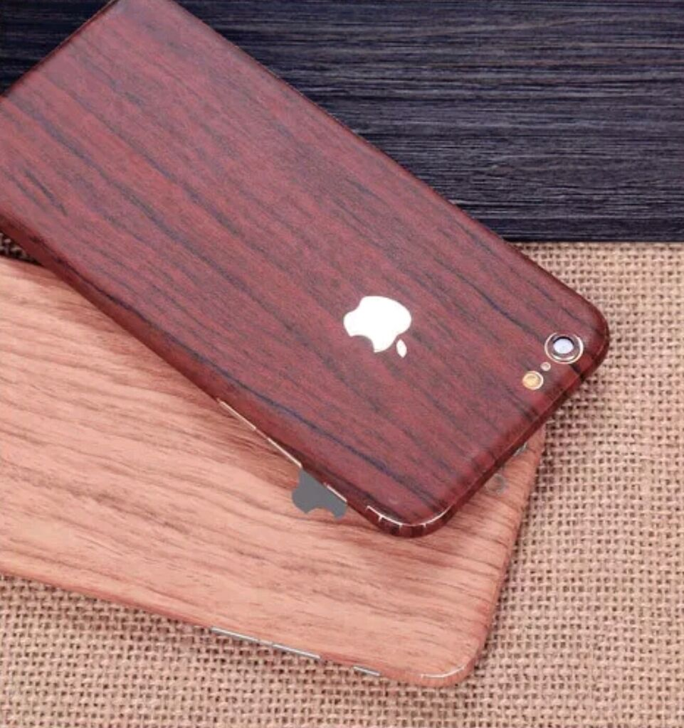 Wood Effect For Apple iPhone Case Cover Sticker Vinyl Wrap D