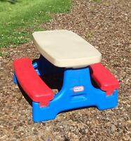 Little Tikes Easy Store Play Table