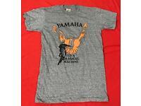 "Vintage US Tri-Blend Grey T-Shirt "" Yamaha"""