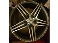 3 x Mercedes Wheel Rims