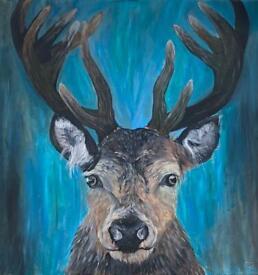 Prongs the Stag - Emily Johnston Artist