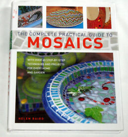 TWO BOOKS = Practical guide to Mosaics and Mosaics in a weekend