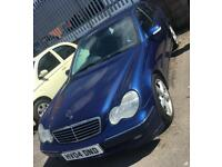 2004 MERCEDES BENZ C220 2.2 CDI AUTO 5 DOOR
