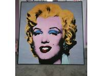 Large Andy Warhol Picture