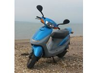 SYM CITY HOPPER 49cc Scooter. Excellent condition. One owner. Very low mileage £299
