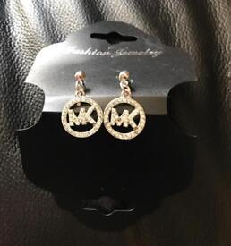 Brand new Designer pair of MK Earrings