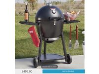 Char griller smoker BBQ needs grill plates easily ordered online RRP £499.