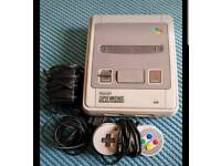 SNES SUPER NINTENDO COMPLETE WITH LEADS