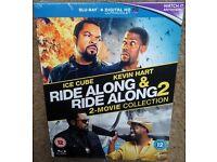 NEW & SEALED Ride Along 1 & 2 Blu-Ray Boxset & UV Code