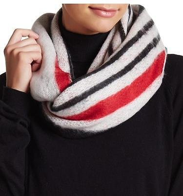 New with Tags - $44 Steve Madden White Multi Good Sport Infinity Scarf