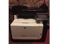 HP LaserJet Pro CM1415fn Color Multifunction Printer - Toner Cartridges included