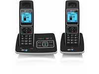 BT 6500 TWIN Cordless DECT Phone with Answer Machine and Nuisance Call Blocking (Pack of 2)