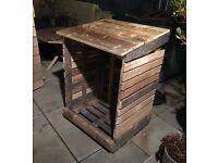 Log box / firewood storage