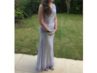 Lavender Lace Prom Dress- size 8/10