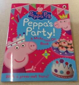 NEW Peppa Pig Party Make-and-Do Book